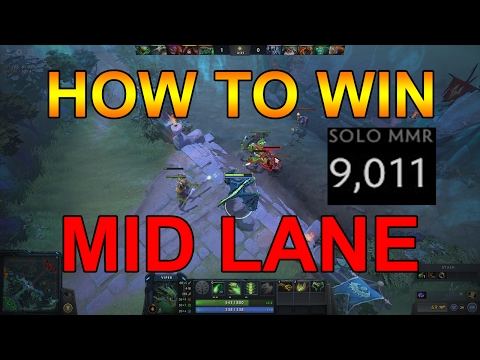 Dota 2 How to Win the Mid Lane Guide (Tips to Raise MMR)