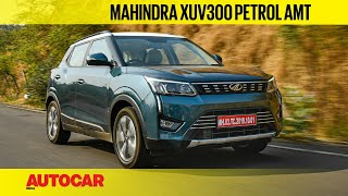 2021 Mahindra XUV300 petrol AMT review - Easy does it | First Drive | Autocar India