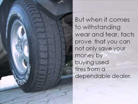 Getting the Best Deal for you - Buy Used Tires!