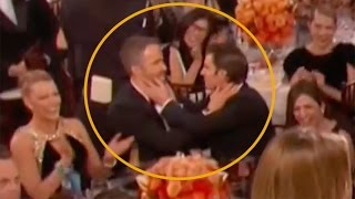Ryan Reynolds Kissed WHO at the Golden Globes? It's not Blake Lively!
