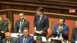 """Eccesso di entusiasmo per la replica di Conte, Casellati richiama all'ordine: """"Basta tifo da stadio"""""""