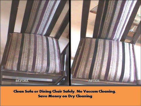 How to dry clean Dining Chair/ Sofa Set at home very easily