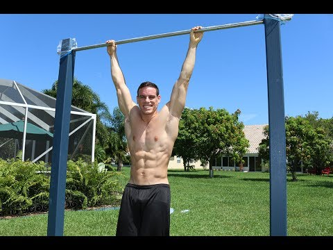 30 Unique Ab Exercises On A Pull Up Bar [6-pack style]