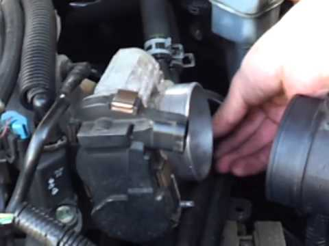 Thorough Throttle Body Cleaning -ex: Chevy Impala
