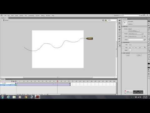 2D Animation - Motion Path Tutorial - Adobe Flash CS6