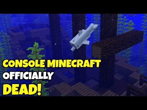The OFFICIAL DEATH Of Console Minecraft | Update Aquatic Coming To Old Consoles And PS4