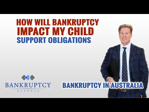 Child Support and Bankruptcy in Australia