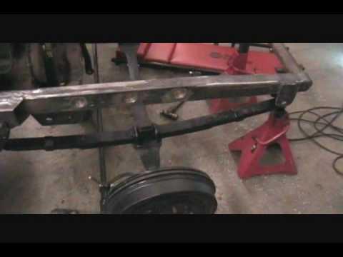 rat rod front axle