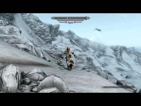 Skyrim Dragon vs Giant