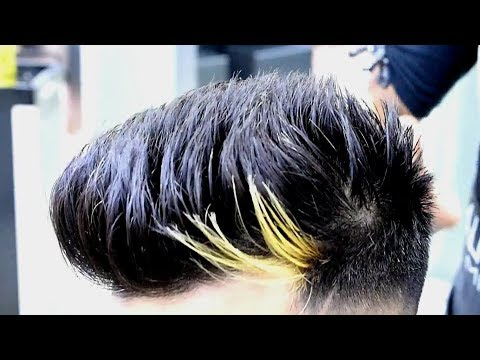 High Fade with Textured Spikes★Haircut Hairstyle trend 2017★TheRealMenShow★ #12