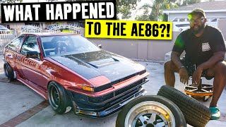 Is this the perfect daily driver? Hert's AE86 Corolla gets Wheels, Carbon and Cooling!
