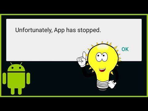 Unfortunately App Has Stopped - How to Fix - Android Studio Tutorial