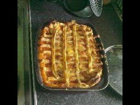 sausage and bean pie