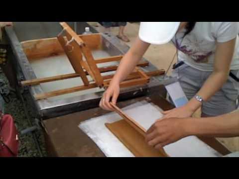 How to make korean paper