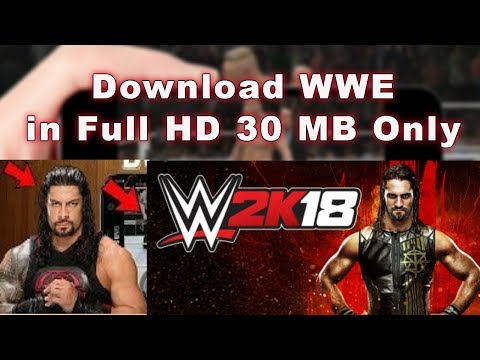 How to download wwe 2k17 for android |Real mod 30 mb New Link
