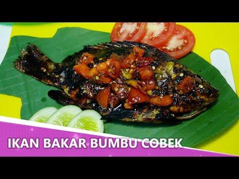 Resep Ikan Bakar Bumbu Cobek / Sambal Cobek