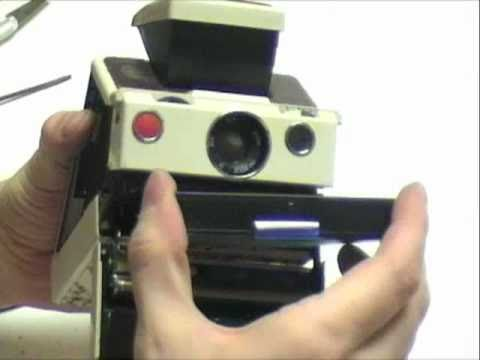 Polaroid SX-70 repair