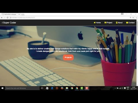 Responsive Web Design with HTML5 CSS3 Bootstrap PART 2