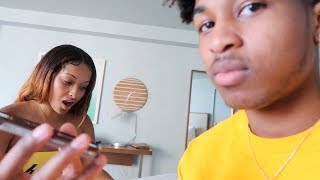 """""""WE ARE RELATED"""" PRANK ON GIRLFRIEND! **HILARIOUS**"""