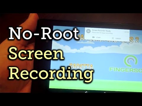 Easy Android 5.0 Lollipop Screen Recording Without Root [How-To]