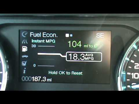 How to reset the oil life on a Ford F150, Edge, Explorer, Focus, EcoBoost, etc.