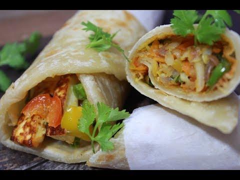 ২ ধরনের পুরের রেসিপি সহ ঝটপট ভেজ রোলের রেসিপি||Easy Breakfast Recipe||Veg  Roll||Paneer Roll Recipe