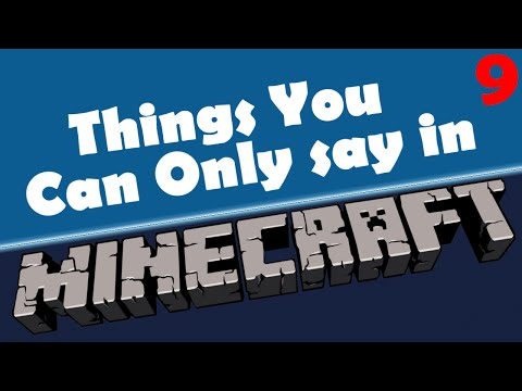 Annoying Horses / Riding Pigs / Killing Villagers - Things You Can Only Say In Minecraft - 9