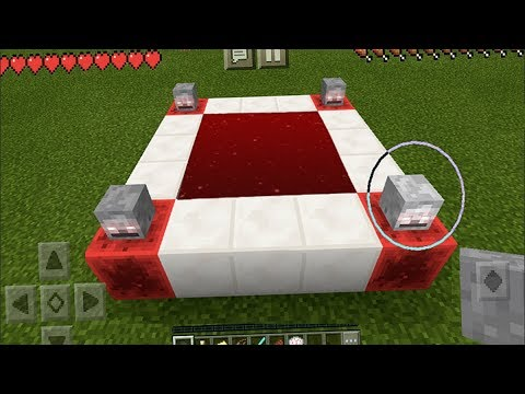 How To Make an IT Portal Minecraft Pocket Edition (NO ADDONS)