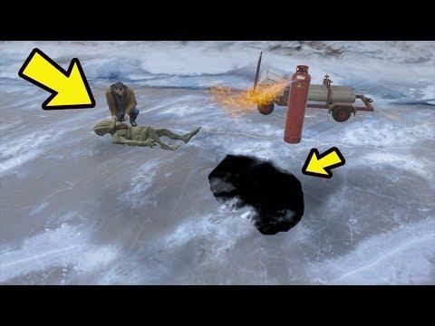 GTA 5 - Como tirar o Alien do gelo de North yankton! (Finalmente)