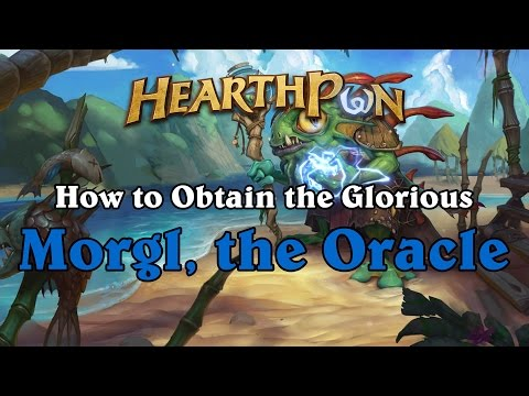 How to Obtain Morgl the Oracle the Easy Way - Hearthstone's New Shaman Hero