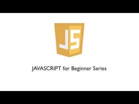 Javascript Series Introduction