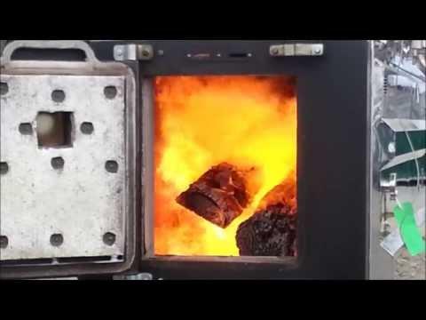 MASSIVE 20' Wood Gasifier
