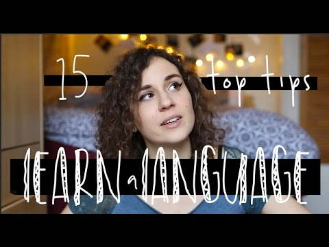 15 Top Tips to LEARN a LANGUAGE | doyouknowellie