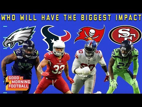 Which Defensive Player with a New Team will Have the Biggest Impact?   NFL Network