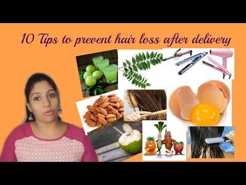 10 Tips to prevent hair loss after delivery