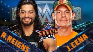 WWE SummerSlam 2018 Dream Match Card