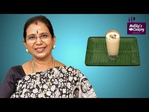MUSKMELON MILK SHAKE : Mallika Badrinath Recipes | Healthy Summer Drink Recipe
