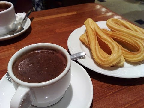 How to make churros con chocolate