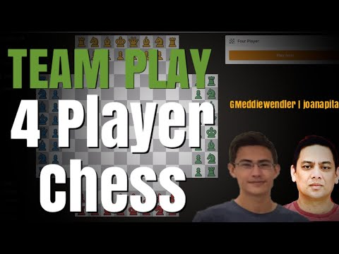 TEAM PLAY MATCH #Rating : 1570 #4 player chess #Game 14