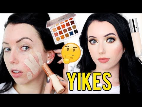 Oh no...TONS OF FIRST IMPRESSIONS! New Smashbox, Kylie Concealer, Violet Voss..