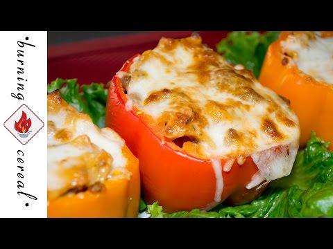 Hamburger Helper® Stuffed Peppers - Recipe