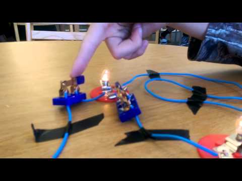 How to make a parallel circuits!