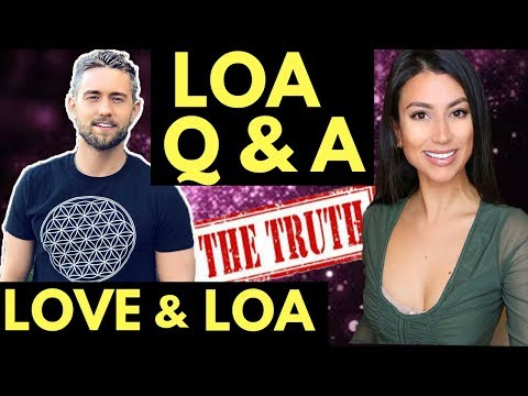 Attracting Love with the LoA feat. Leeor Alexandra (Law of Attraction Q & A)