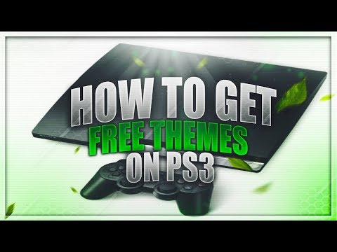 How To Get Free Themes On PS3 For Free (CFW AND OFW)