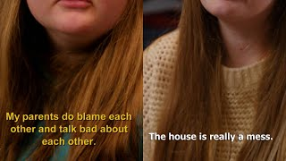 What An 11- And 14-Year-Old Say It's Like Living In A Messy House With Parents Who Argue