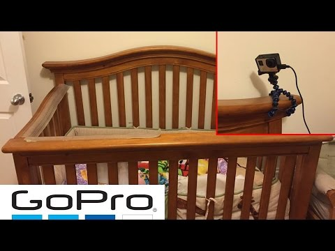How To Make a GoPro Baby Monitor Surveillance System!