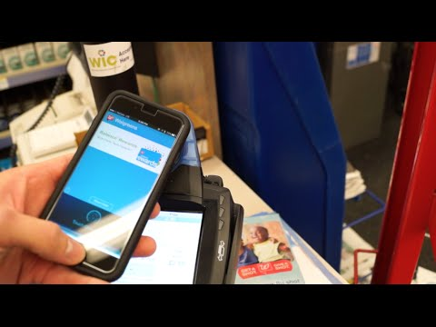 Using Apple Pay and an NFC enabled Balance Rewards card at Walgreens