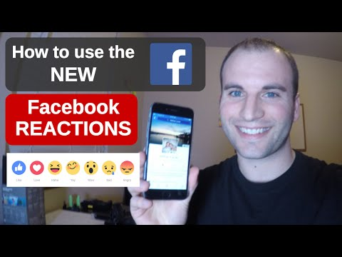 How to Use the NEW Facebook Reactions