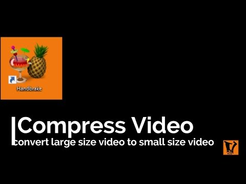 How to compress a large video file without losing any quality In hindi