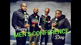 Valentine's Day? No, it's #MensConference